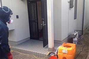 玄関・浴室施工