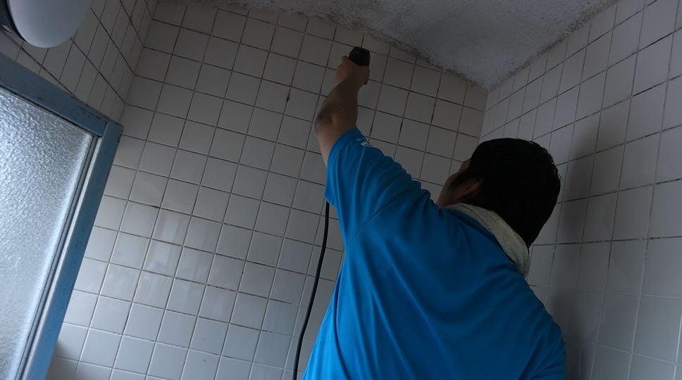 浴室の施工-min