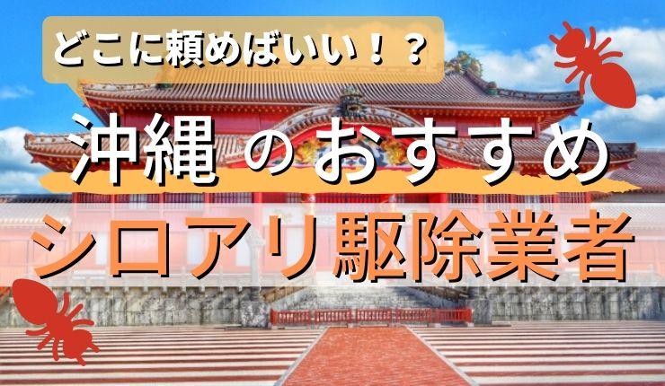 シロアリ駆除 沖縄